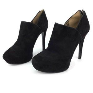 Nine West Suede Platform Stiletto Booties